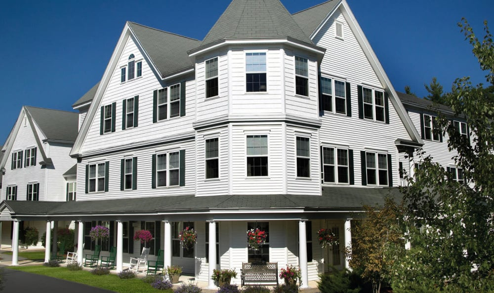 Exterior of Windham Terrace in Windham, New Hampshire