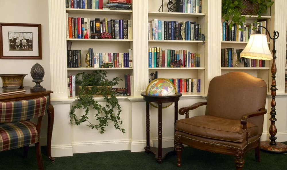 Library at Windham Terrace in Windham, New Hampshire