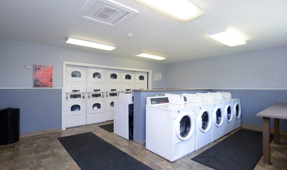Laundry Facility available at Arbor Chase Apartment Homes in Kent, WA