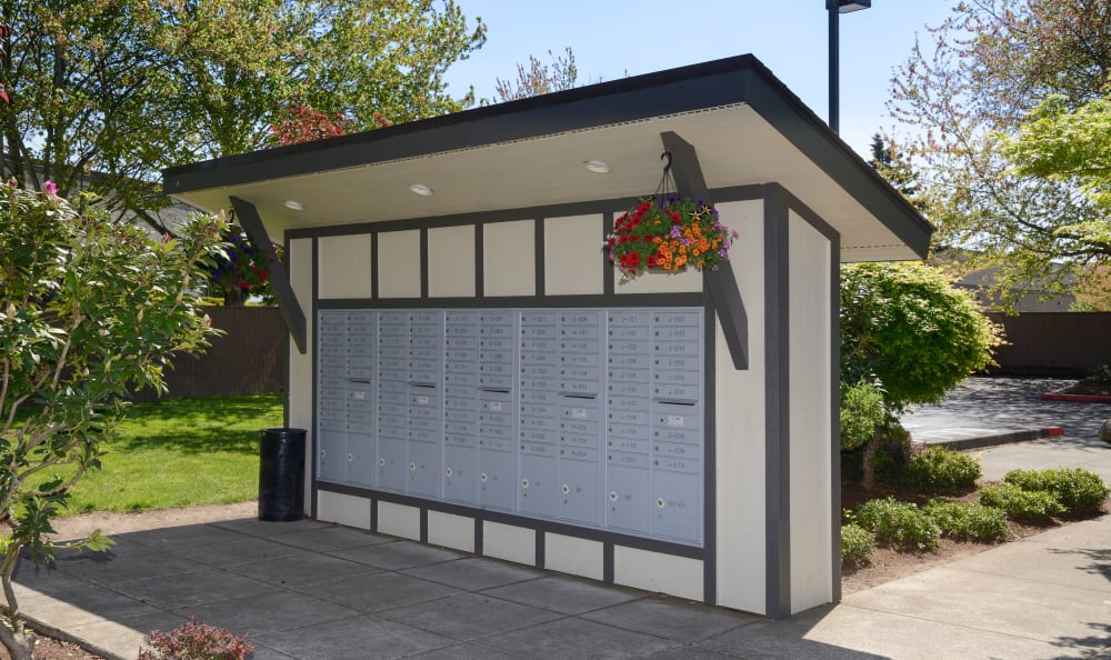 Mailboxes available at Arbor Chase Apartment Homes in Kent, WA