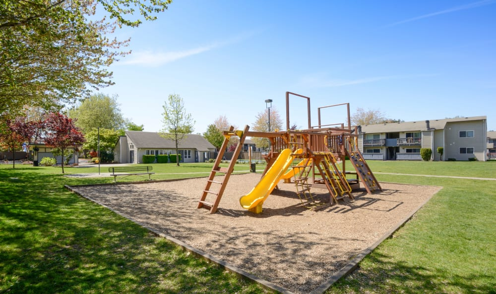 Enjoy the park at Arbor Chase Apartment Homes in Kent, WA