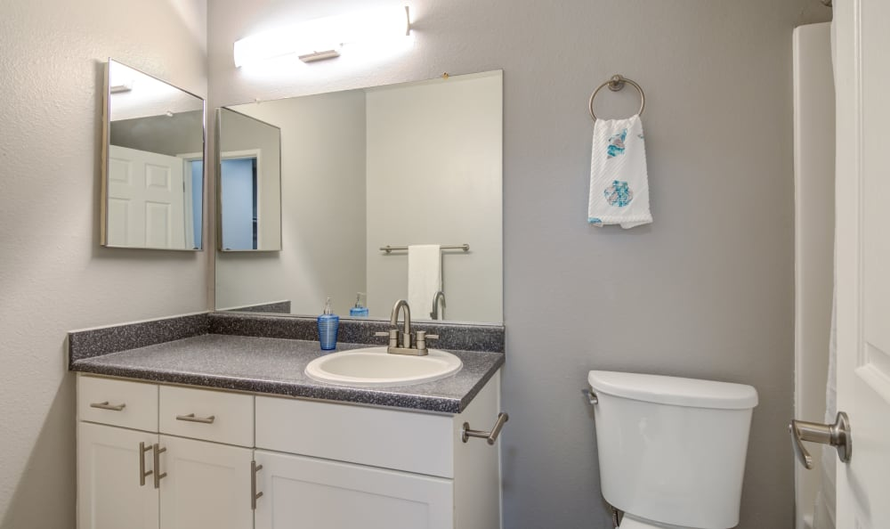 White renovation bathroom