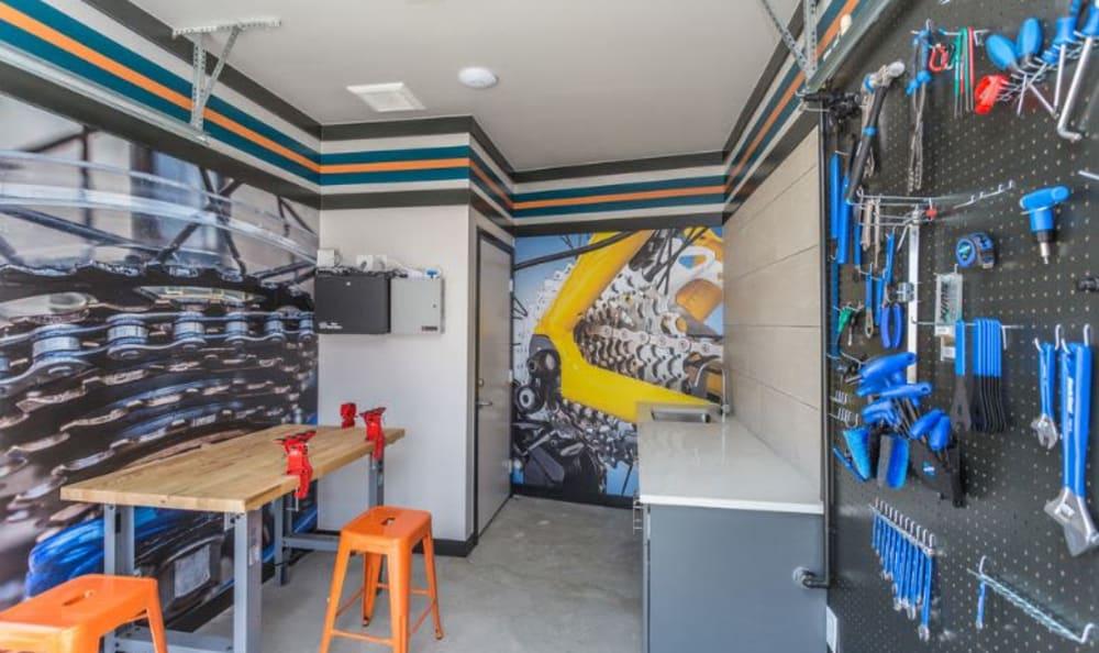 bike repair shop in Denver, Colorado