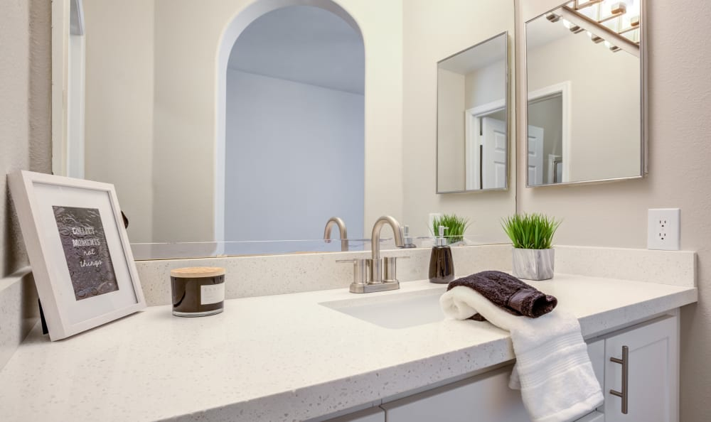 Our Apartments in Chandler, Arizona offer a Bathroom