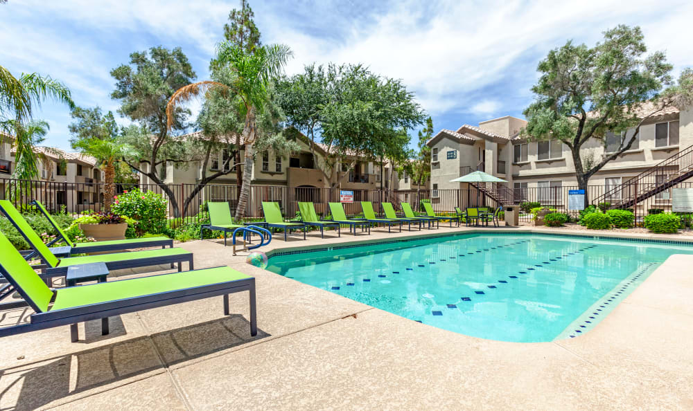 Our Apartments in Chandler, Arizona offer a Swimming Pool