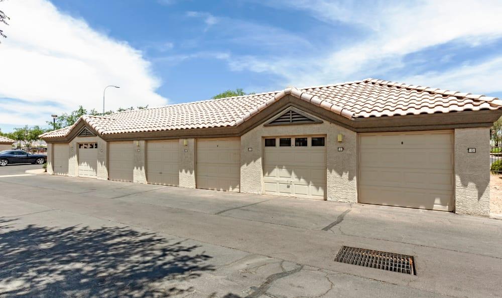 Carports at Apartments in Chandler, Arizona