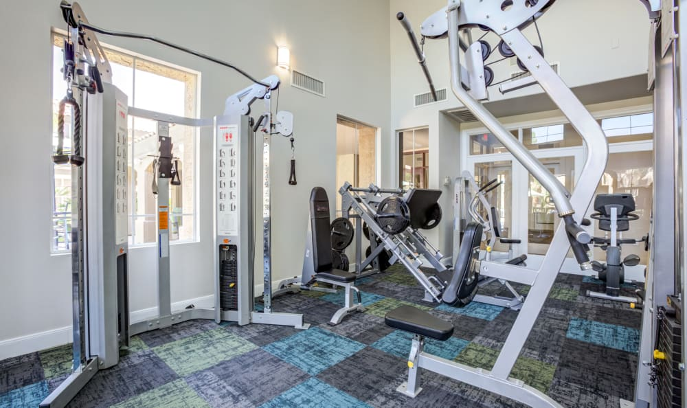 Fitness Center at Apartments in Chandler, Arizona