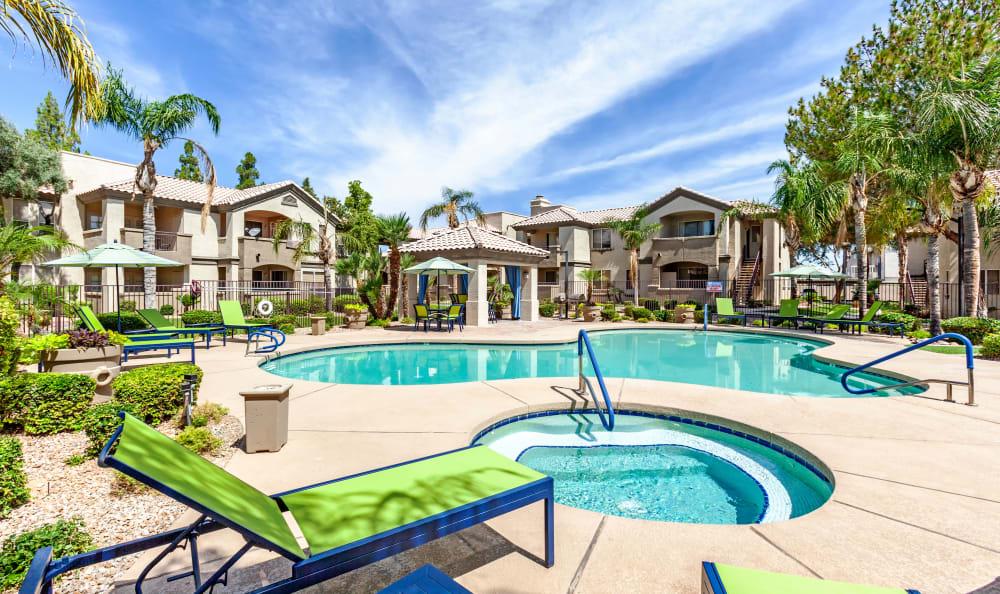 Swimming Pool at Apartments in Chandler, Arizona