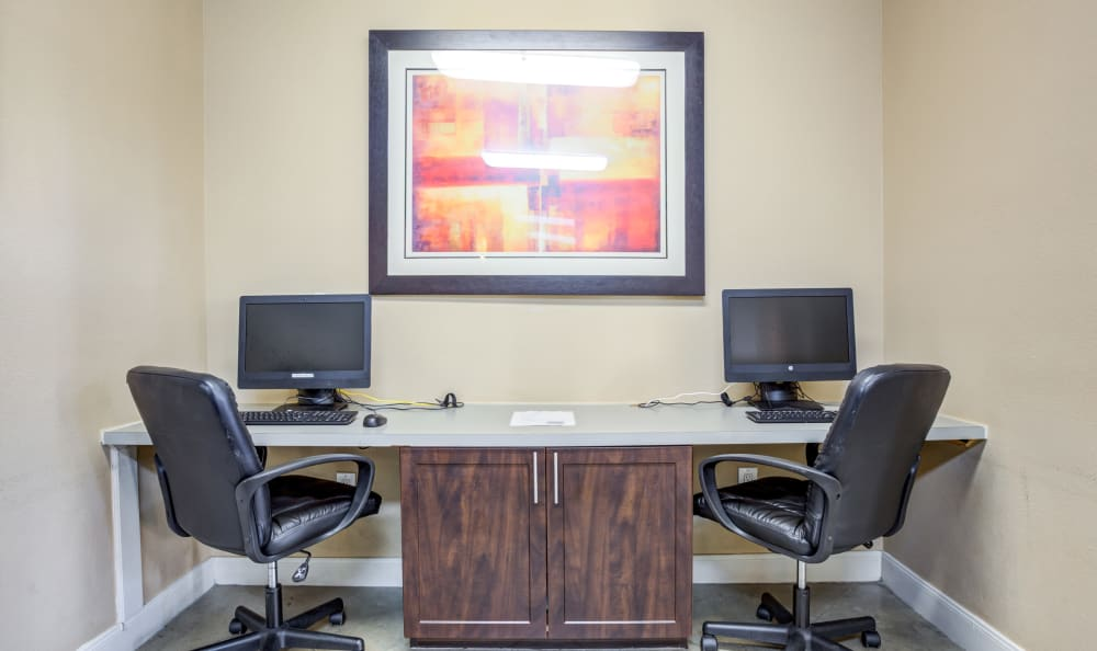 Business Center at Apartments in Chandler, Arizona