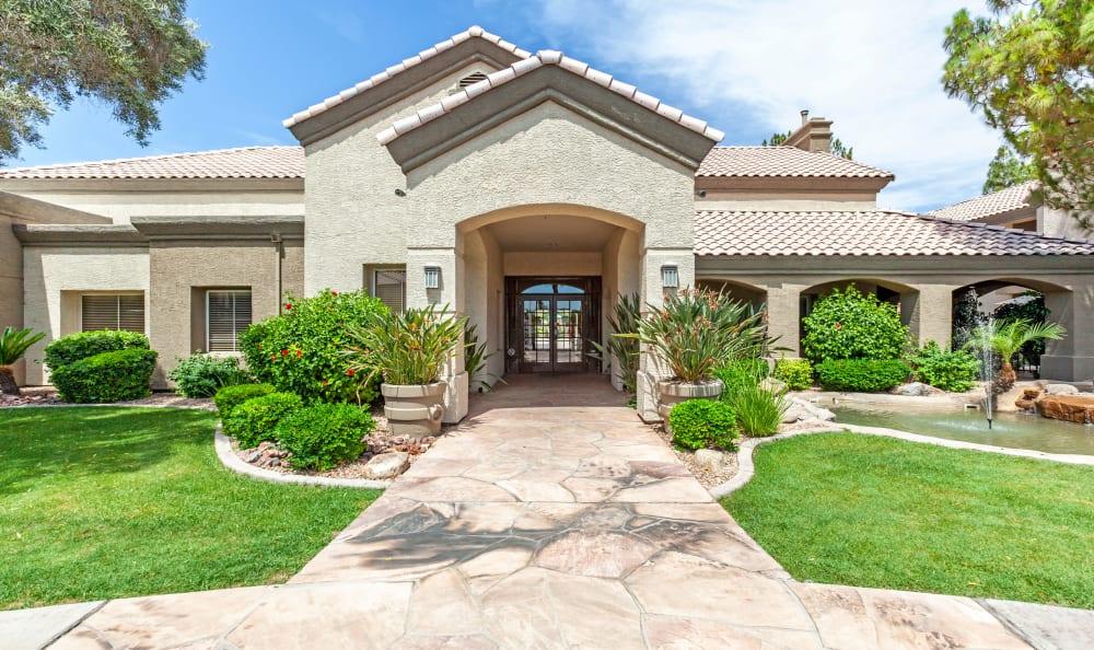 Front entrance for Chandler, Arizona