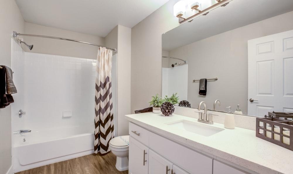 Bathroom at Apartments in Chandler, Arizona