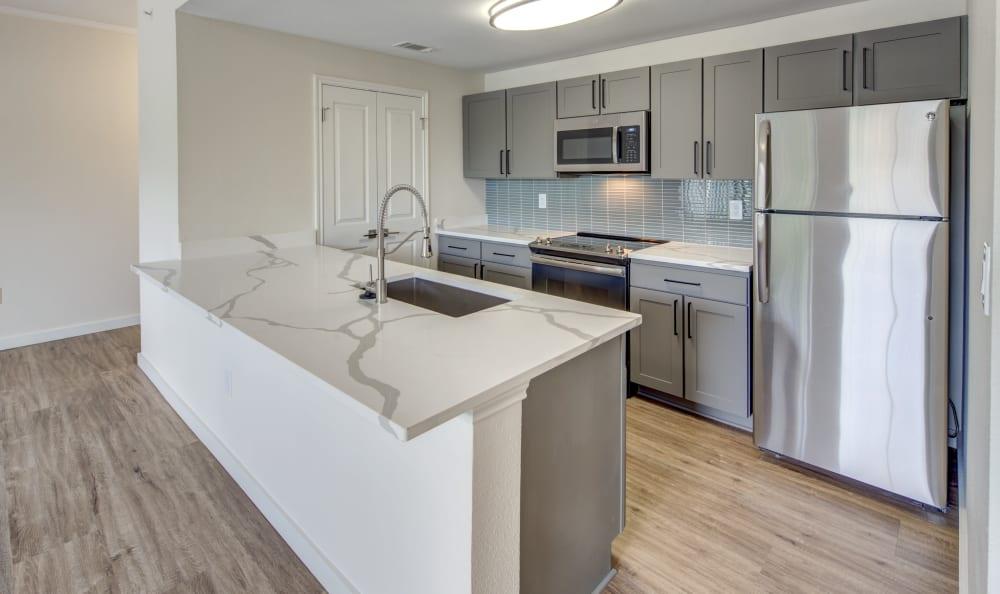 Beautiful kitchen at Riata Austin in Austin, Texas