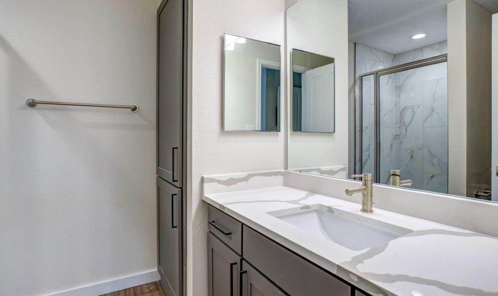 bathroom at TX in Austin, Texas