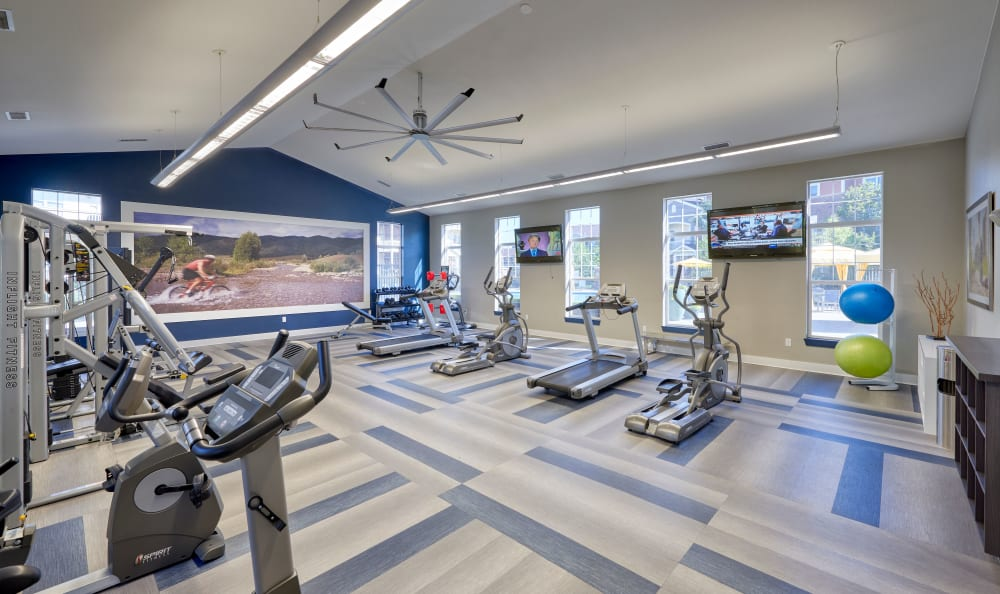 renovated fitness center at Bear Valley Park in Denver, Colorado