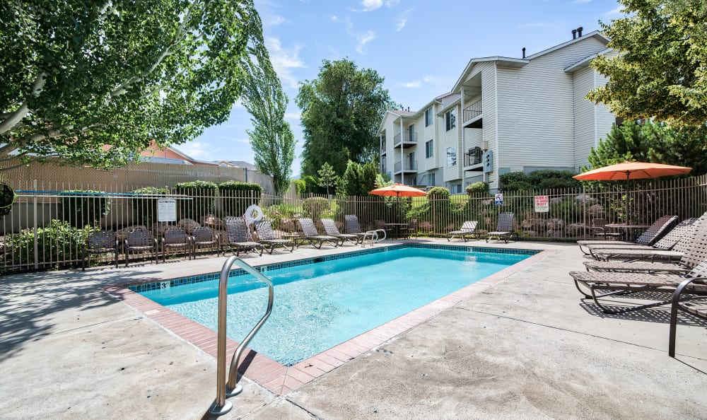 Swimming Pool at Cherry Lane Apartment Homes in Bountiful