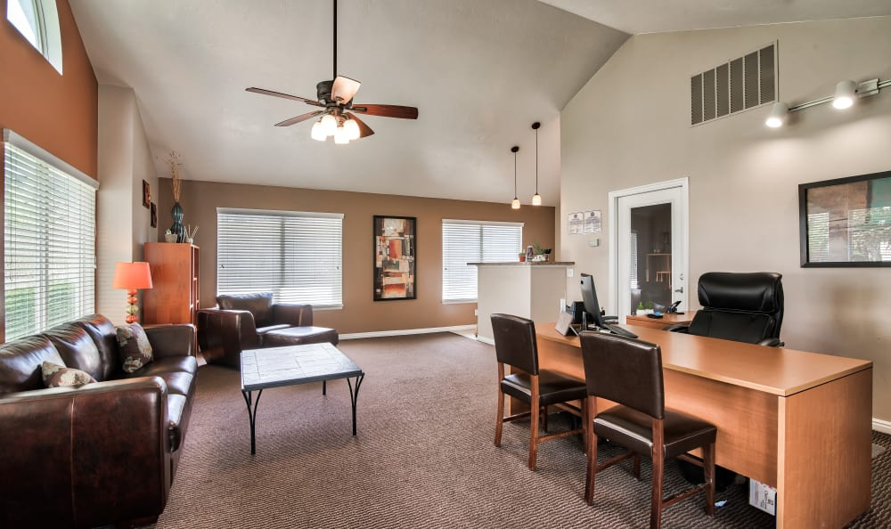 Leasing Office at Cherry Lane Apartment Homes in Bountiful