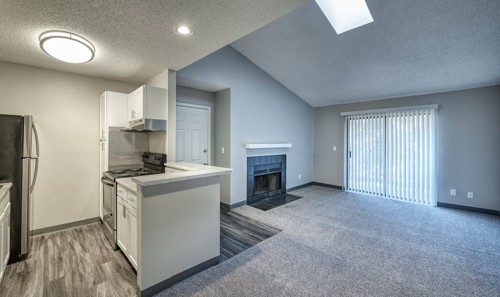 Our Apartments in Aurora, Colorado offer a Kitchen