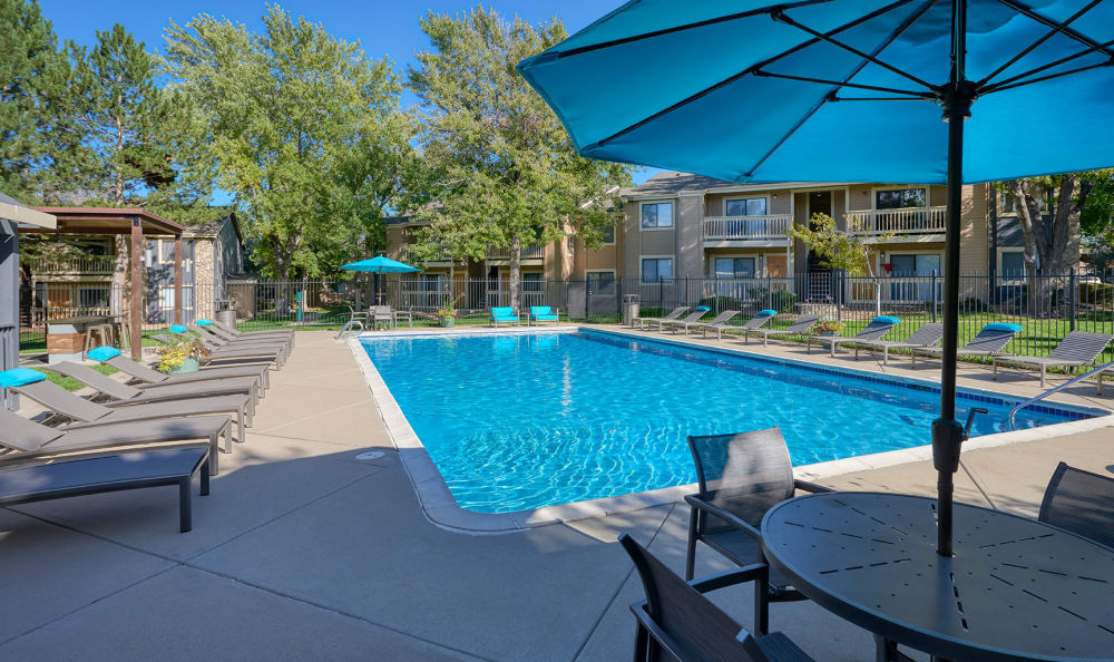 Our Apartments in Aurora, Colorado offer a Swimming Pool