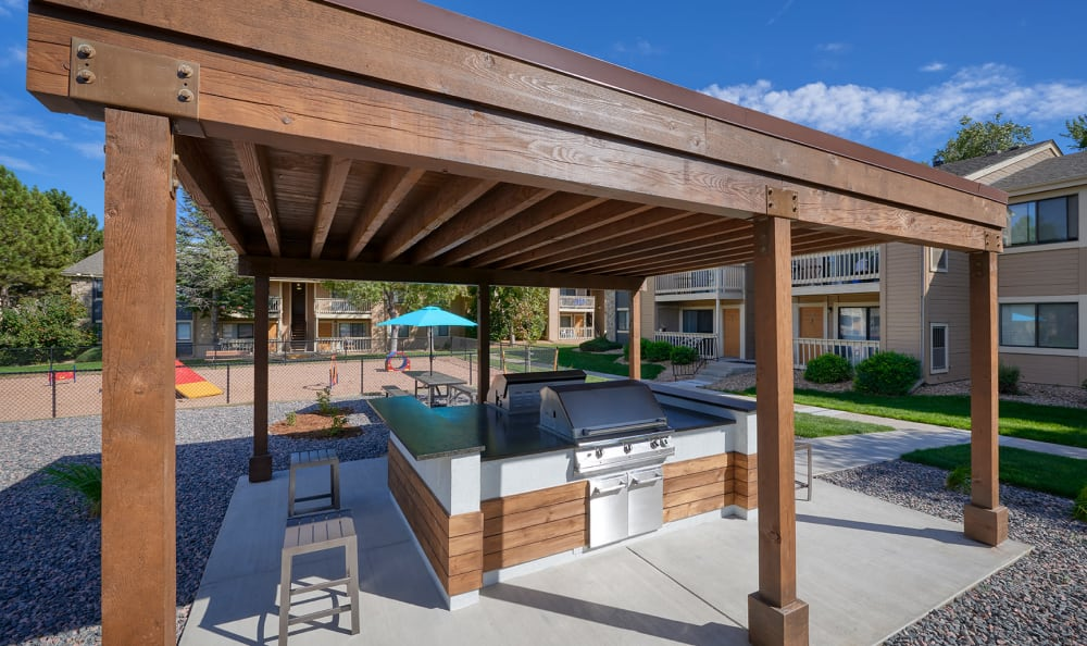 Our Apartments in Aurora, Colorado offer a BBQ Area