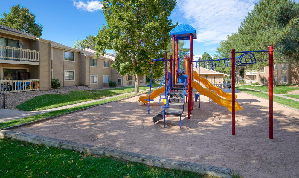 Playground at City Center Station Apartments in Aurora, Colorado