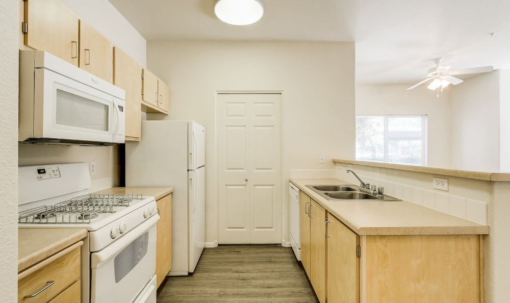 Our Apartments in Woodland, California offer a Kitchen
