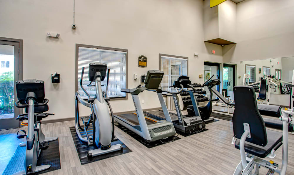 Apartments with a Fitness Center at The Estates at Park Avenue