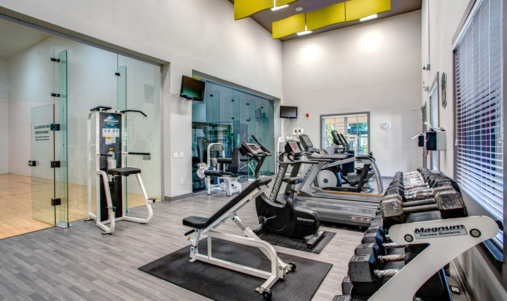 Fitness Center at Apartments in Orlando, Florida
