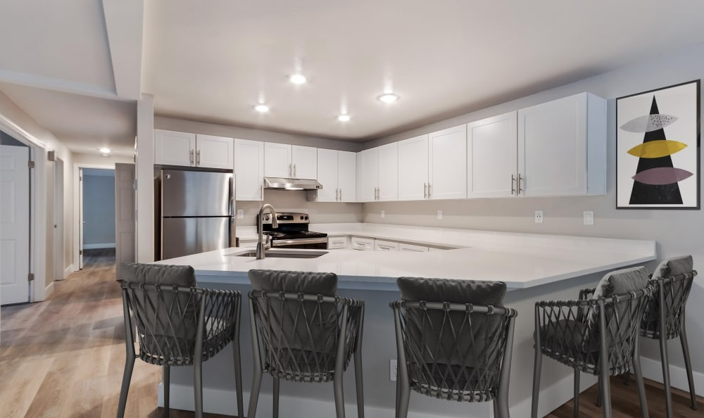 Our Apartments in Kent, Washington offer a Kitchen