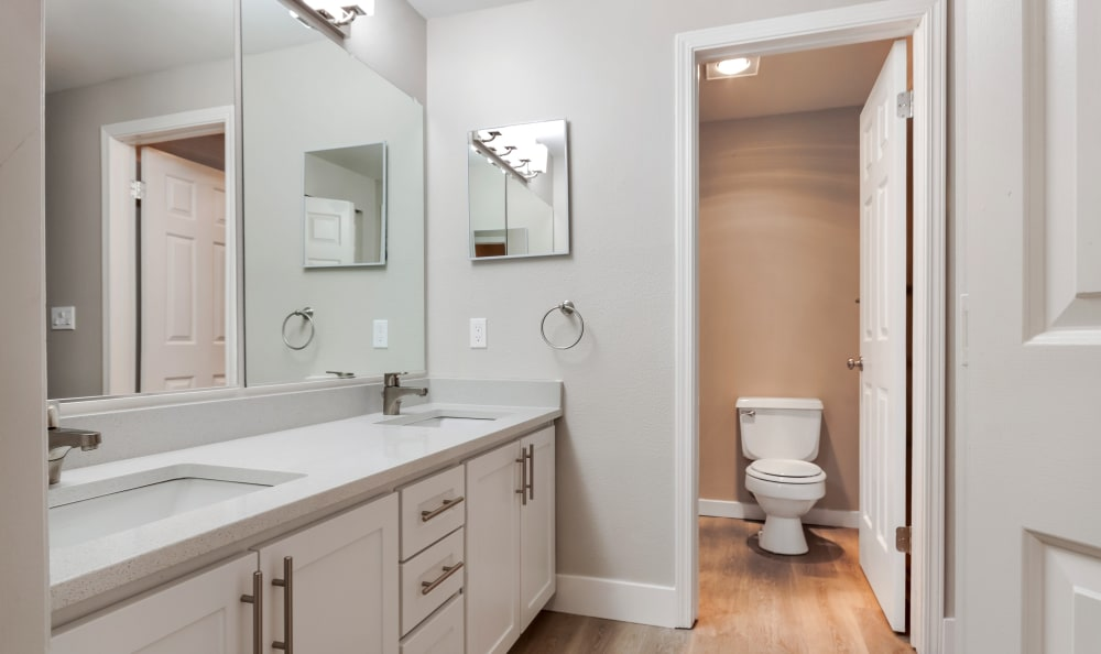Bathroom at Apartments in Kent, Washington
