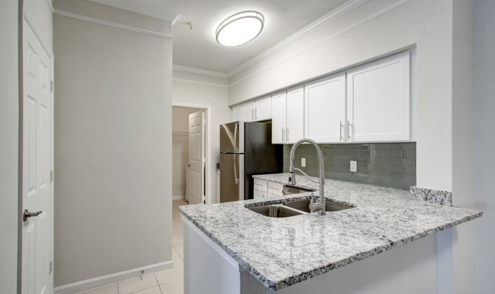 Kitchen at Apartments in Orlando, Florida