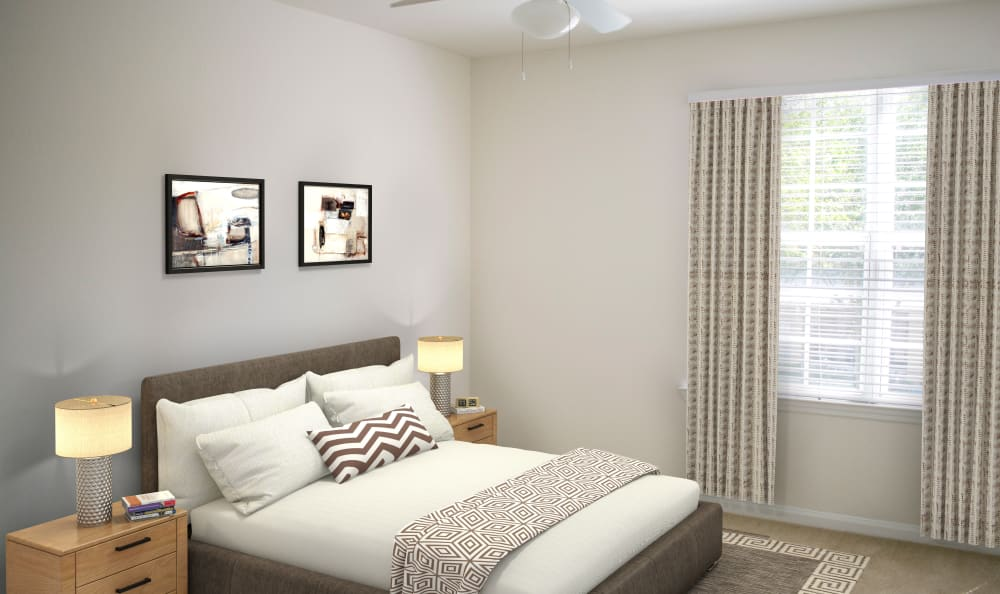 Enjoy Apartments with a Bedroom at The Estates at Park Avenue