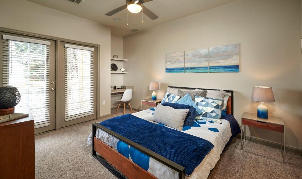 Bedroom at Gateway Park Apartments in Denver