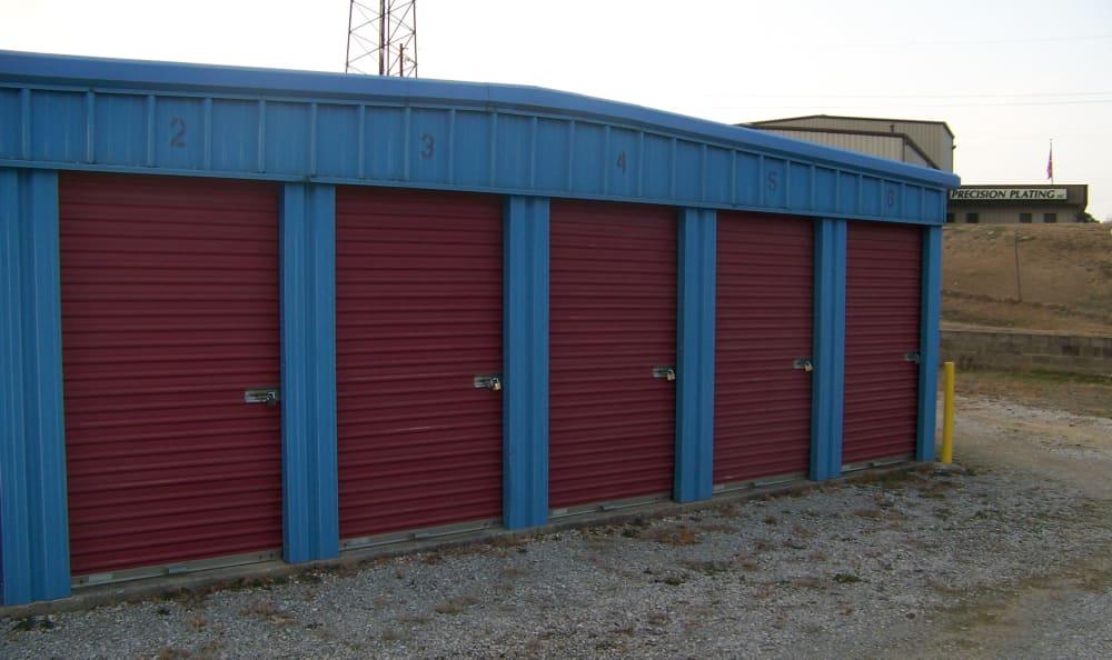 Storage units at Industrial Park Mini Storage in Birmingham