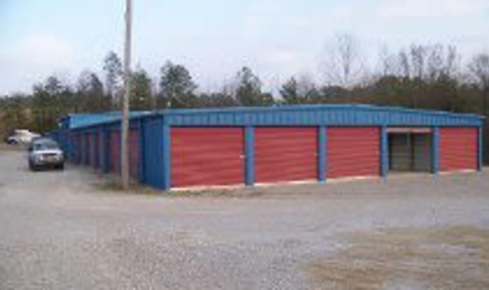 Exterior photo of Industrial Park Mini Storage in Birmingham, Alabama