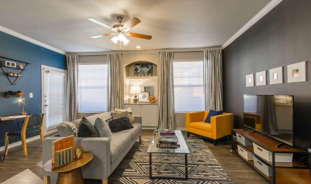 Living room at 2803 Riverside in Grand Prairie, Texas