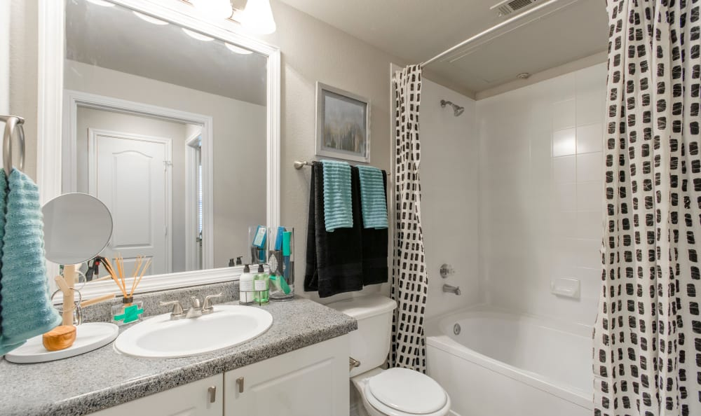 Bathroom at 2803 Riverside in Grand Prairie, Texas