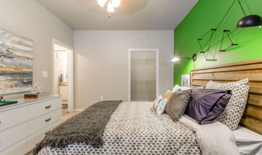Master bedroom at 2803 Riverside in Grand Prairie, Texas