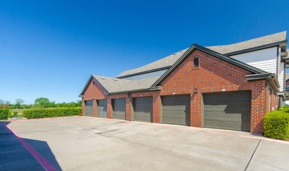 Parking garages available at 2803 Riverside in Grand Prairie, Texas