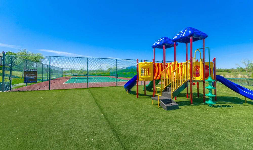 Playground at 2803 Riverside in Grand Prairie, Texas