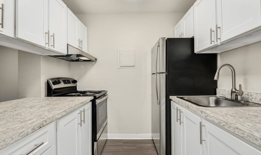 Enjoy our Apartments that are Great for entertaining with a Kitchen at The Boulevard at South Station Apartment Homes
