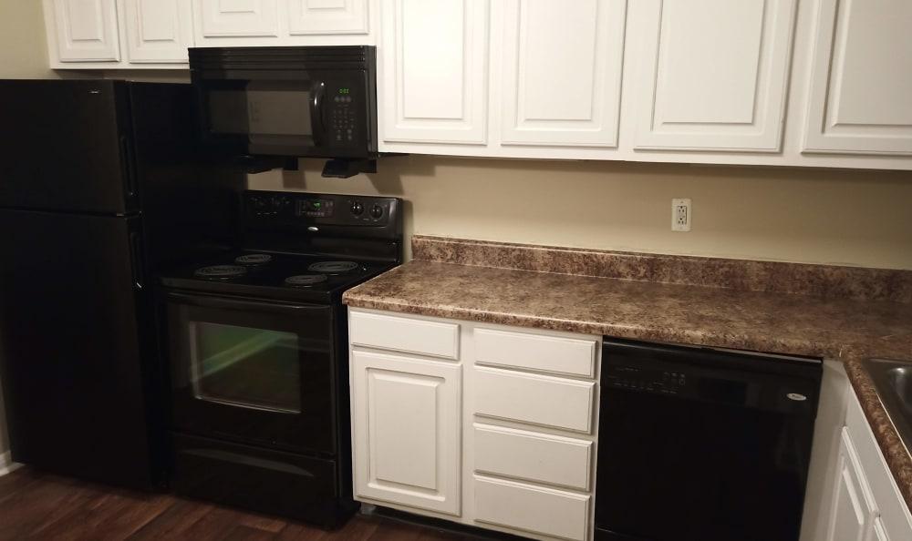 Kitchen at Brentwood Station in Nashville, TN