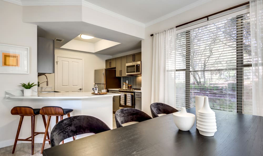 Riata Austin kitchen and dining room