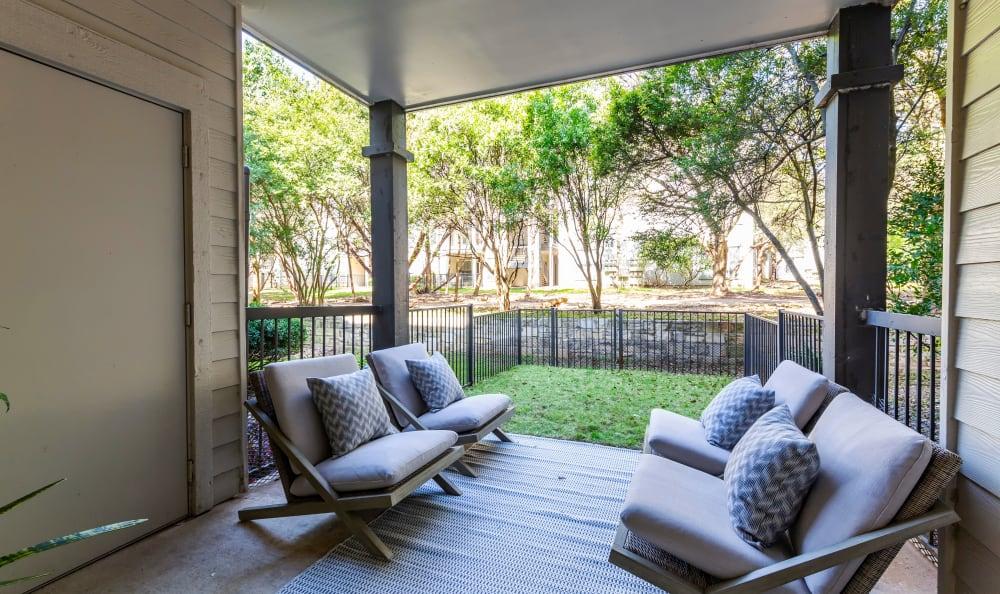Riata Austin in Austin, TX offers a patio