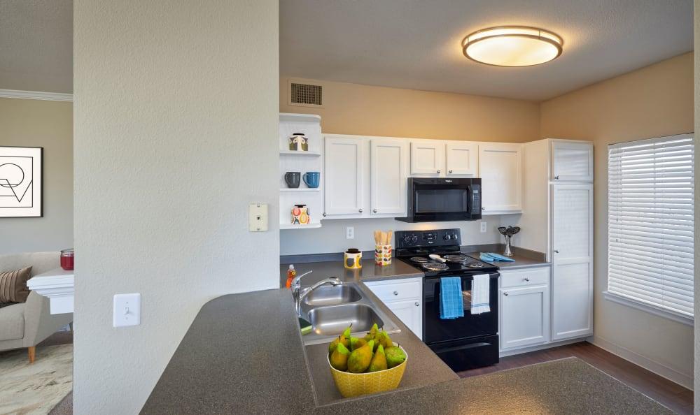 White Renovated Unit Kitchen