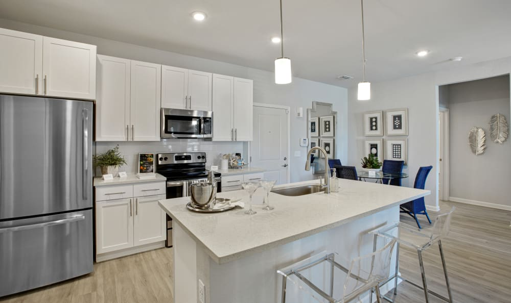 Vue at Belleair offers a Kitchen in Clearwater, Florida