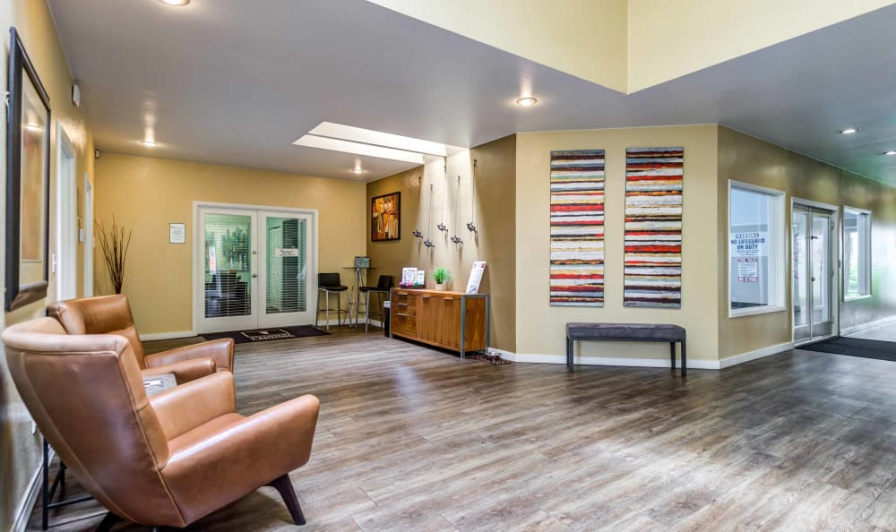 Leasing Office at Discovery Landing Apartment Homes in Burien, Washington