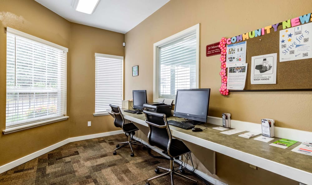 Our Apartments in Burien, Washington offer a Business Center