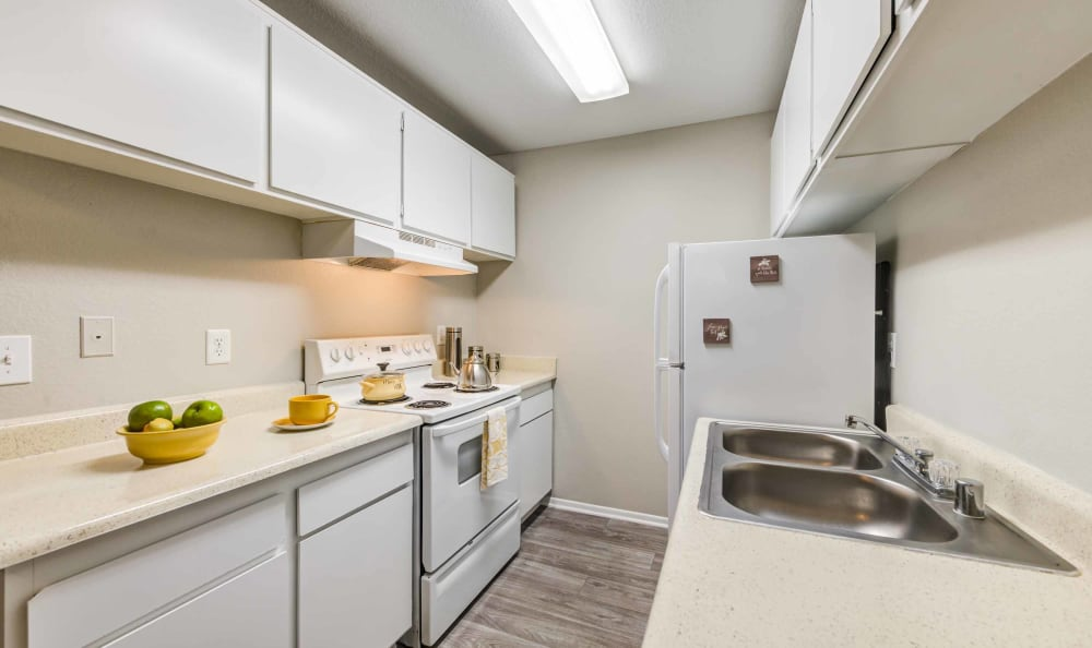 Kitchen at Creekside Village Apartment Homes