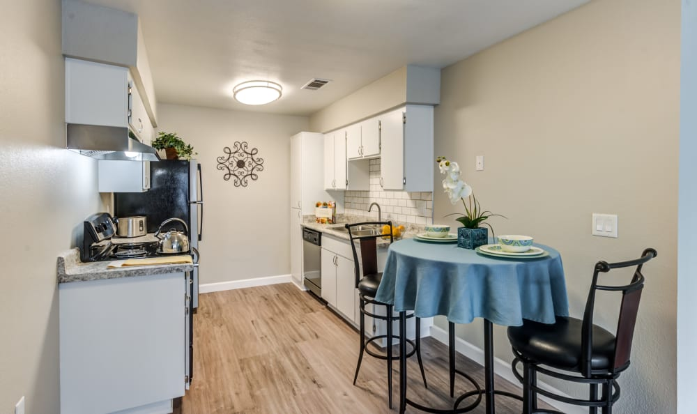 Kitchen at Country Hills Apartment Homes in Corona, CA