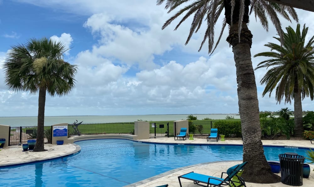 Swimming Pool at Apartments in Corpus Christi, Texas